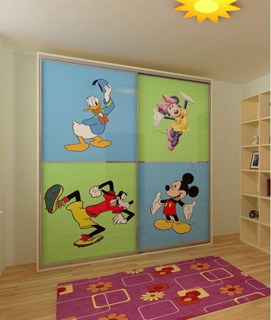 Двери-купе в детские комнаты