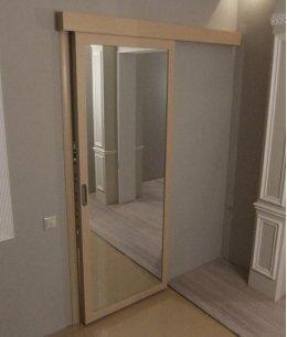 Двери в кладовку раздвижные