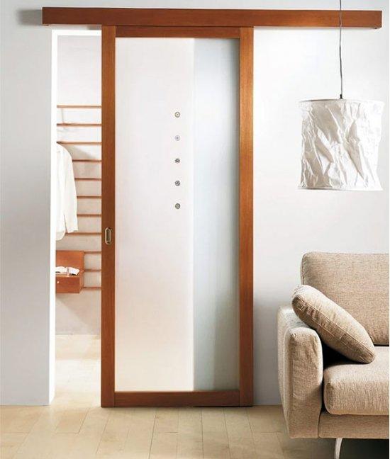 Навесные раздвижные двери межкомнатные