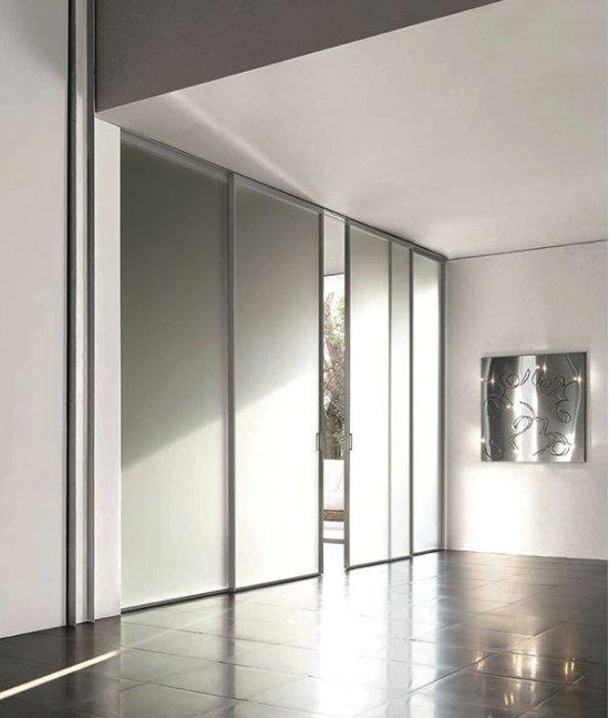 Раздвижные межкомнатные двери от пола до потолка