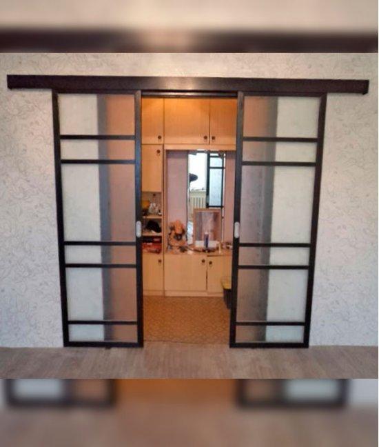 Раздвижные двери в проем