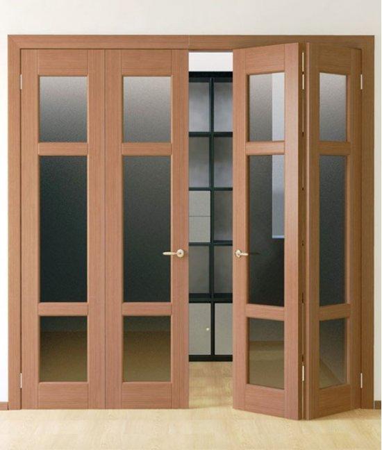 Раздвижные складные двери