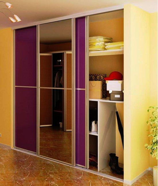 Современные двери для встроенного шкафа