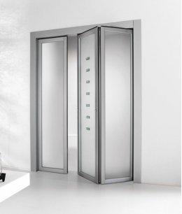 Двери межкомнатные складные двухстворчатые