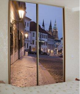 Маленькие двери с фотопечатью