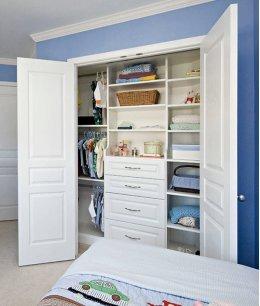 Шкаф гардеробная в детскую комнату