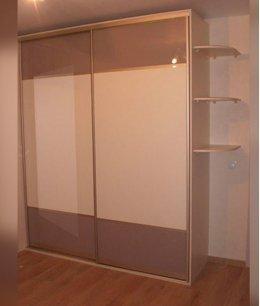 Шкаф гардеробный двухсекционный