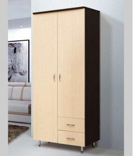 Шкаф 2х дверный с ящиками