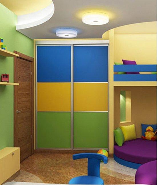 Шкаф город детский