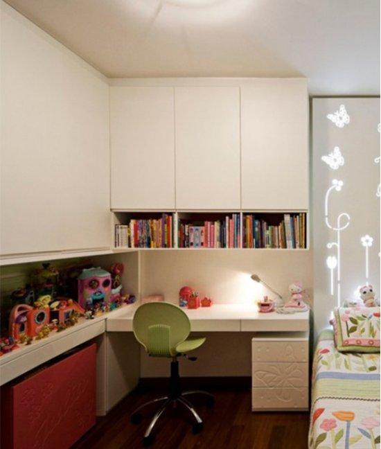 Шкаф в маленькую детскую комнату