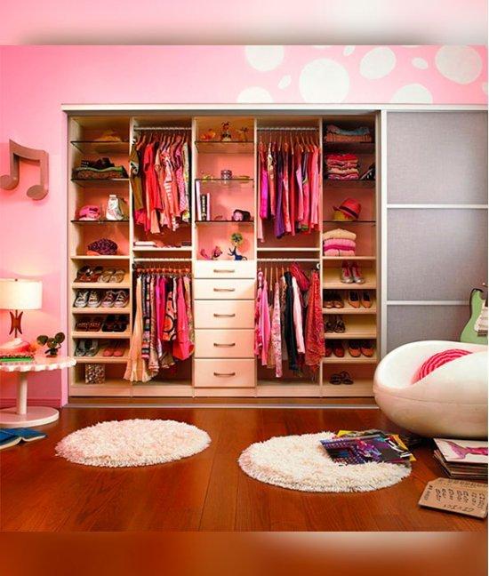 Шкаф детский 5 ти секционный для одежды