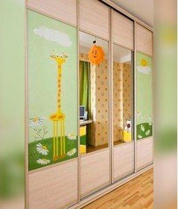 Детские шкафы комбинированные