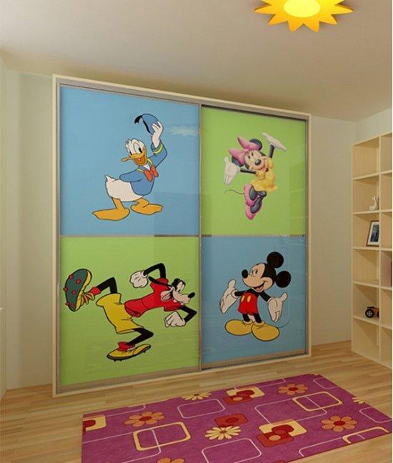 Шкаф для игрушек для девочки