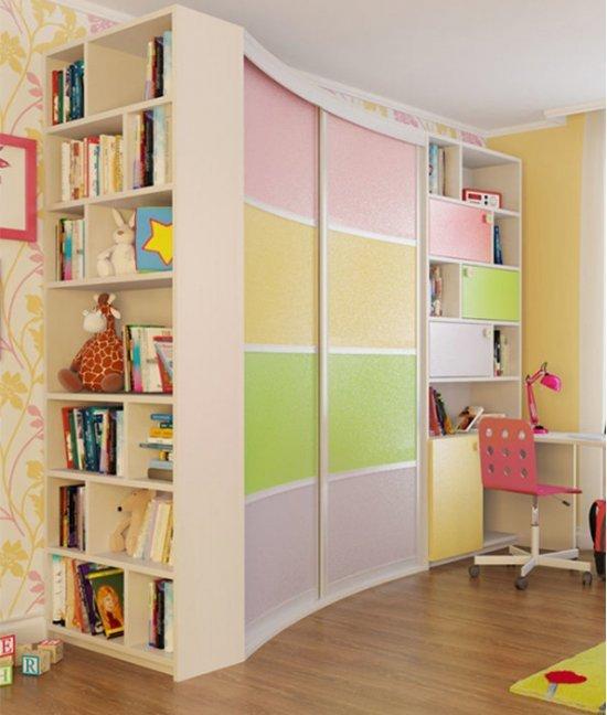 Шкаф для девочки 8 лет