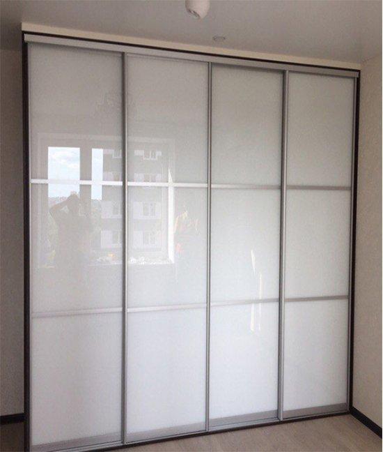 Шкаф четырех (4-х) дверный белый