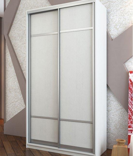 Белый шкаф купе 80 см (800 мм) шириной