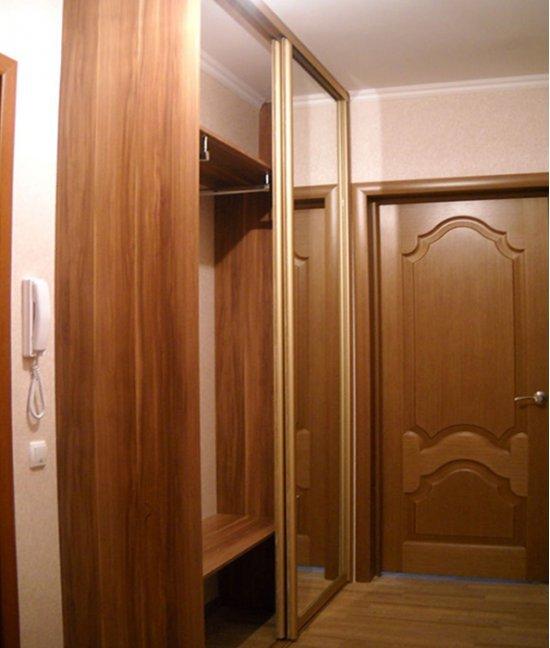 Шкаф в прихожую 70 см ширина