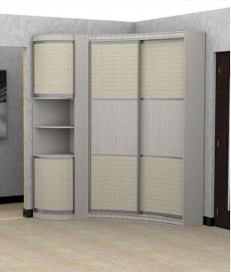 Радиусные шкафы в коридор