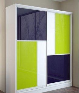 Двухстворчатые (2х дверные) шкафы купе в спальню
