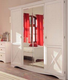 Шкаф купе в спальню в стиле прованс