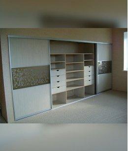 Встроенный шкаф купе спальня 5 метров