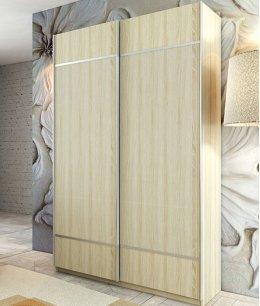 Шкафы купе в спальню без зеркал
