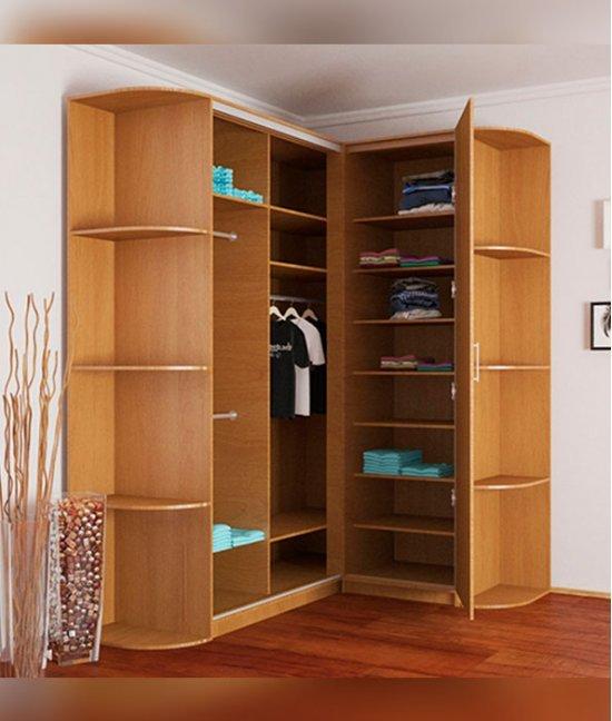 Угловой шкаф купе гардероб