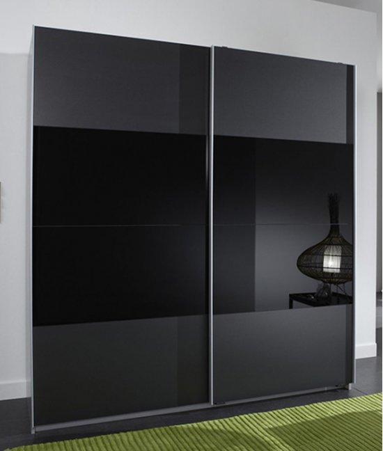 Шкафы купе лакобель черные