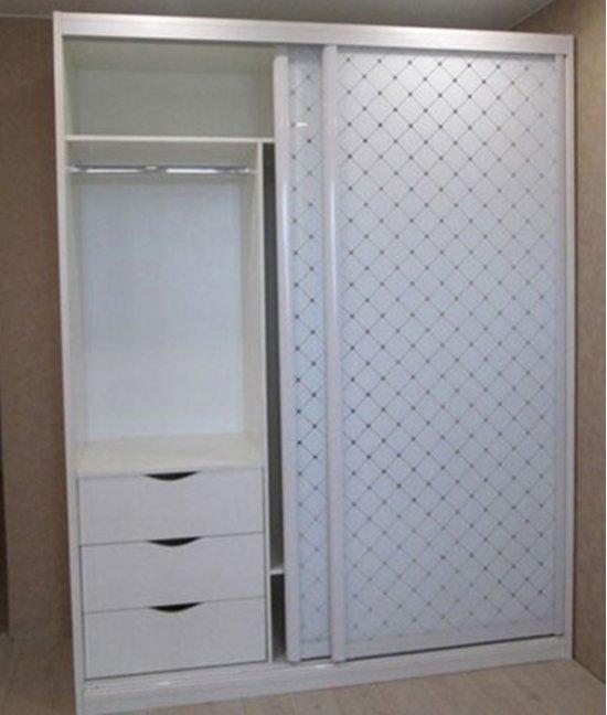 Шкаф купе белый с глубиной 40 см