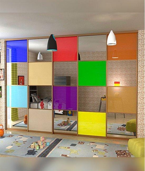 Встроенный шкаф купе в детскую